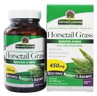 Nature's Answer - Horsetail Grass Single Herb Supplement - 90 Capsules