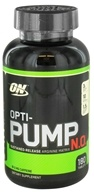 Optimum Nutrition - Opti-Pump N.O. Sustained-Release Arginine Matrix - 180 Tablets by Optimum Nutrition