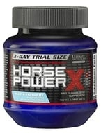 Image of Ultimate Nutrition - Platinum Series Horse Power X Ultra-Concentrated Pre-Workout Blue Raspberry 3-Day Trial Size - 45 Grams CLEARANCED PRICED