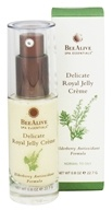 Image of BeeAlive - Delicate Royal Jelly Facial Creme Elderberry Antioxidant Formula - 0.8 oz.