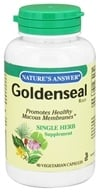 Nature's Answer - Goldenseal Root Single Herb Supplement - 90 Vegetarian Capsules