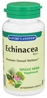 Nature's Answer - Echinacea Root Single Herb Supplement - 60 Vegetarian Capsules