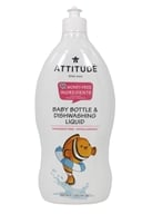 Image of Attitude - Dishwashing Liquid Fragrance Free - 23.7 oz.