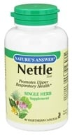 Nature's Answer - Nettle Leaf Single Herb Supplement - 90 Vegetarian Capsules