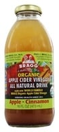 Bragg - Organic Apple Cider Vinegar All Natural Drink Apple Cinnamon - 16 oz.
