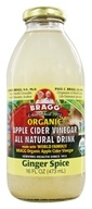 Organic Apple Cider Vinegar All Natural Drink Ginger Spice - 16 fl. oz.