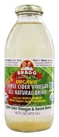Image of Bragg - Organic Apple Cider Vinegar All Natural Drink Vinegar & Sweet Stevia - 16 oz.