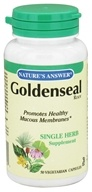 Nature's Answer - Goldenseal Root Single Herb Supplement - 50 Vegetarian Capsules (083000162541)