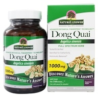 Nature's Answer - Dong Quai Root Single Herb Supplement - 90 Vegetarian Capsules (083000161704)