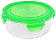 Image of Wean Green - Glass Meal Bowl Pea - 24 oz.