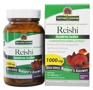 Image of Nature's Answer - Reishi Mushroom Extract - 60 Vegetarian Capsules