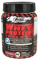 Extreme Edge - Whey Protein Isolate Striking Strawberry - 1 lb. by Extreme Edge