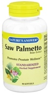 Image of Nature's Answer - Saw Palmetto Berry Extract - 90 Softgels