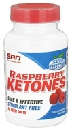 SAN Nutrition - Raspberry Ketones Stimulant Free 100 mg. - 90 Capsules CLEARANCE PRICED