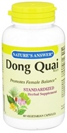 Nature's Answer - Dong Quai Root - 60 Vegetarian Capsules (083000163715)
