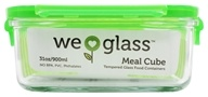 Image of Wean Green - Glass Meal Cube Pea - 31 oz.