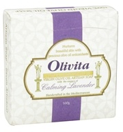 Olivita - Virgin Olive Oil Bar Soap Lavender - 3.5 oz.