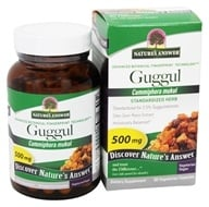 Nature's Answer - Guggul Oleo-Gum-Resin-Extract 2.5% Guggulsterones - 60 Vegetarian Capsules, from category: Nutritional Supplements