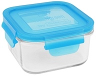 Image of Wean Green - Glass Lunch Cube Blueberry - 16 oz.