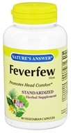 Nature's Answer - Feverfew Herb - 90 Vegetarian Capsules
