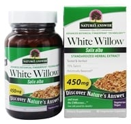 Nature's Answer - White Willow Bark - 60 Vegetarian Capsules (083000164477)