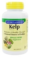 Nature's Answer - Kelp Thallus Single Herb Supplement - 100 Capsules - $4.15
