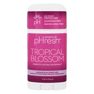 pHresh - 100% Natural Deodorant Stick Tropical Blossom - 2.25 oz.