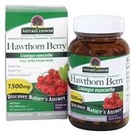 Nature's Answer - Hawthorn Berry Single Herb Supplement - 90 Vegetarian Capsules (083000162664)