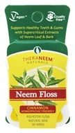 Organix South - TheraNeem Naturals Neem Floss Cinnamon - 50 Yard(s) (666183179201)