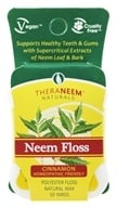 Organix South - TheraNeem Naturals Neem Floss Cinnamon - 50 Yard(s), from category: Personal Care