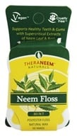 Organix South - TheraNeem Naturals Neem Floss Mint - 50 Yard(s)