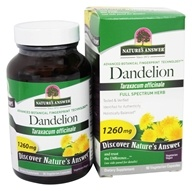 Image of Nature's Answer - Dandelion Root Single Herb Extract - 90 Vegetarian Capsules