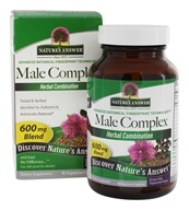 Image of Nature's Answer - Male Complex Herbal Blend Supplement - 90 Vegetarian Capsules