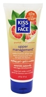 Image of Kiss My Face - Styling Gel Upper Management Medium Hold Grapefruit - 6 oz.