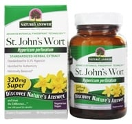 Nature's Answer - St. John's Wort Super Herb Extract - 60 Vegetarian Capsules - $4.99
