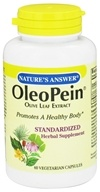 Nature's Answer - OleoPein Olive Leaf Extract - 60 Vegetarian Capsules by Nature's Answer