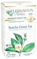 Celebration Herbals - Organic Sencha Green Tea - 24 Tea Bags - $4.48