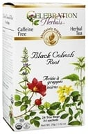 Celebration Herbals - Organic Caffeine Free Black Cohosh Root Herbal Tea - 24 Tea Bags by Celebration Herbals