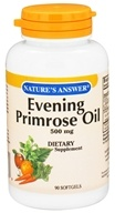 Nature's Answer - Evening Primrose Oil 500 mg. - 90 Softgels - $5.39