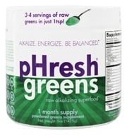 Phresh Products - Phresh Greens 100% Raw Organic Alkalizing Powdered Superfood - 5 oz.