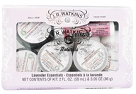 JR Watkins - Naturals Apothecary Lavender Essentials Personal Care Travel Kit - 8 Piece(s) (818570004652)