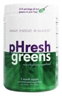 Image of Phresh Products - Phresh Greens 100% Raw Organic Alkalizing Powdered Superfood - 10 oz.