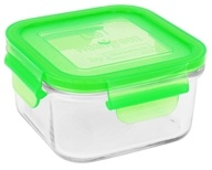 Wean Green - Glass Lunch Cube Pea - 16 oz. (063236490045)