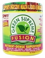 SAN Nutrition - Green Supreme Fusion Nutrient-Dense Superfoods 30 Servings - 11.2 oz. (672898440208)