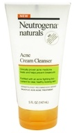 Neutrogena - Naturals Acne Cream Cleanser - 5 oz.