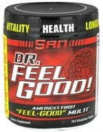 SAN Nutrition - Dr. Feel Good High Potency Complete Multivitamin & Mineral Formula - 224 Tablets by SAN Nutrition