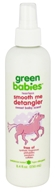 Green Babies - Smooth Me Detangler Sweet Baby Scent - 8.4 oz., from category: Personal Care