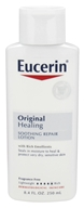Eucerin - Original Healing Soothing Repair Lotion Fragrance Free - 8.4 oz. (072140110192)