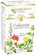 Celebration Herbals - Organic Caffeine Free Echinacea Angustifolia Herb Herbal Tea - 24 Tea Bags