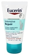 Eucerin - Intensive Repair Extra-Enriched Hand Creme Fragrance Free - 2.7 oz. by Eucerin